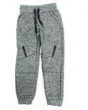Sweatpants - Marled French Terry Moto Jogger (8-20)