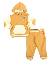 Akademiks - Elbow Patch Hoodie & Jogger Set (2-4)