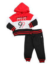 Sizes 2T-4T - Toddler - Colorblock Hoodie & Jogger Set (2T-4T)