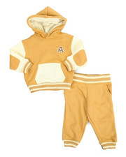 Akademiks - Elbow Patch Hoodie & Jogger Set (Infant)