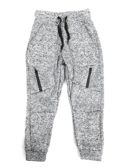 Arcade Styles - Marled French Terry Moto Jogger (8-20)