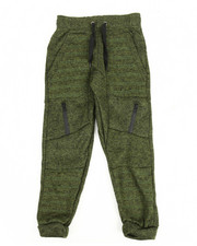 Hoodies - Marled French Terry Moto Jogger (8-20)