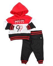 Akademiks - Colorblock Hoodie & Jogger Set (Infant)