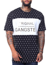 Buyers Picks - S/S Original Gangster Crew Neck Tee (B&T)