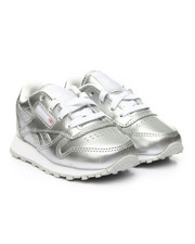 Reebok - CLASSIC LEATHER METALLIC TD SNEAKERS (5-10)