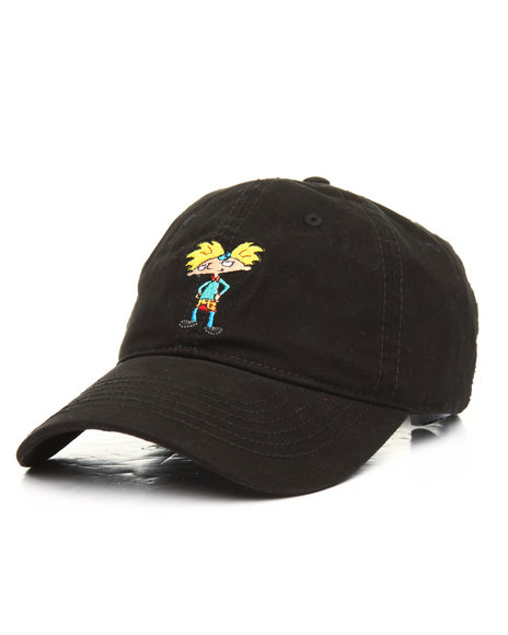 Buy Hey Arnold Dad Hat Men s Hats from Nickelodeon. Find Nickelodeon ... 4e5e48af923