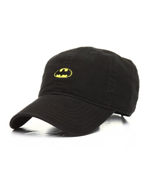 d0fbaafed3bb Buy Batman Logo Dad Hat Men s Hats from DC Comics. Find DC Comics ...