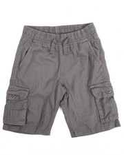 Bottoms - Pull-On Cargo Shorts (8-18)