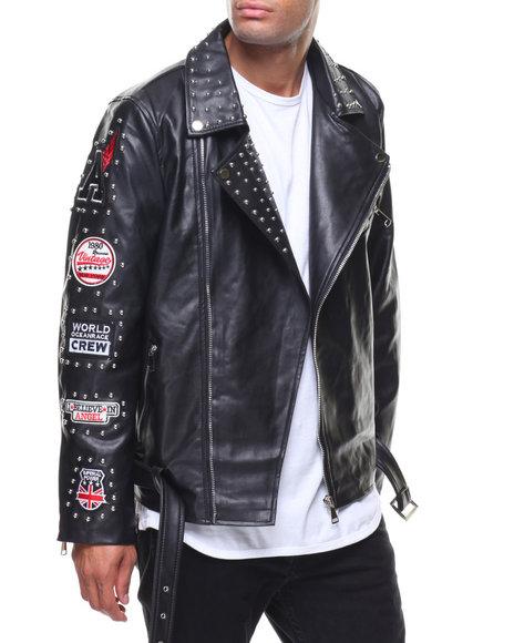Buyers Picks - Pu Jacket Studs