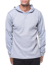 Buyers Picks - Hooded Waffel Thermal w Jersey Sleeve