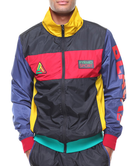 Buy Rubix Track Jacket Men's Outerwear from Black Pyramid ...