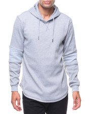 Buyers Picks - Scoop Hem Moto Waffel Hoody Thermal