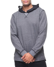 Buyers Picks - 2 tone Waffel Knit Thermal Hoody