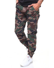 Pants - Articulated Stretch Twill Jogger