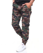 Articulated Stretch Twill Jogger