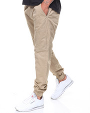 Men - Articulated Stretch Twill Jogger