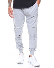 Pants - Distressed Jogger