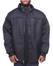 Men - Moto Hooded Jacket (B&T)