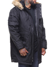 Men - Dustash Hooded Parka Jacket (B&T)