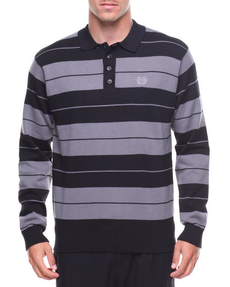 HUF - Boyle L/S Knit Rugby