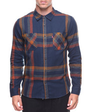 Men - L/S Abbots Flannel