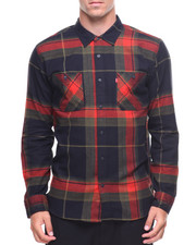 Button-downs - L/S Denhall Flannel
