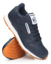 Reebok - CLASSIC LEATHER GUM SNEAKERS (3.5-7)