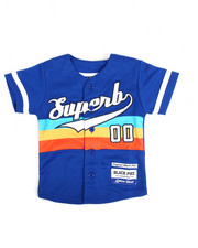 Arcade Styles - Superb S/S Baseball Jersey (2T-4T)