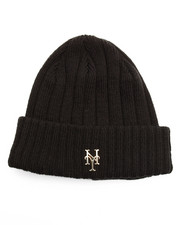 NBA, MLB, NFL Gear - New York Mets Badge Slick Knit Hat