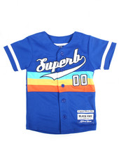 Tops - S/S Superb Baseball Jersey (4-7)