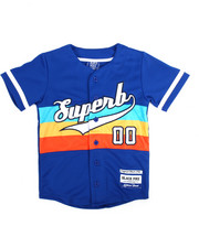 Tops - Superb S/S Baseball Jersey (8-20)