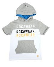 Hoodies - S/S Rocawear Hoodie Tee (8-20)