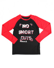Reebok - No Short Cuts L/S` Tee (8-20)