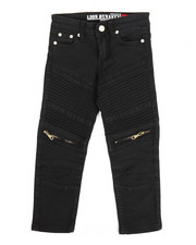 Bottoms - Bull Zipper Stretch Moto Jean (4-7)