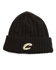 NBA, MLB, NFL Gear - Cleveland Cavaliers Badge Slick Knit Hat