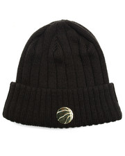 NBA, MLB, NFL Gear - Toronto Raptors Badge Slick Knit Hat