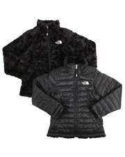 Girls - Reversible Mossbud Swirl Jacket (7-16)