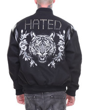 Hudson NYC - HATED VARSITY JACKET