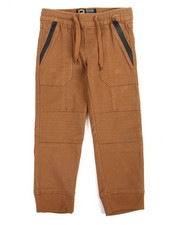 Bottoms - Stretch Twill Jogger (4-7)