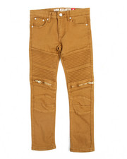 Boys - Bull Zipper Stretch Moto Jean (8-20)