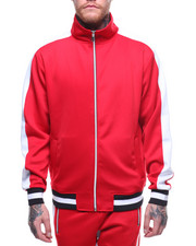 Men - DUAL STRIPE TRACK JACKET