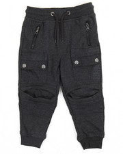 Sweatpants - French Terry Moto Joggers (2T-4T)