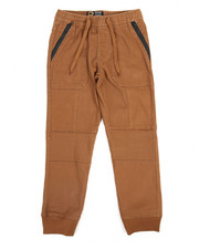 Bottoms - Stretch Twill Jogger (8-18)
