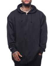 Outerwear - Zip Front Fleece Hoody Pockets (B&T)