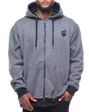 Men - Stick Man Zip Hoodie (B&T)