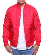 Parish - Quilted Bomber Jacket