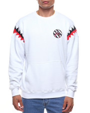 Men - Shark Mouth Crew Sweatshirt