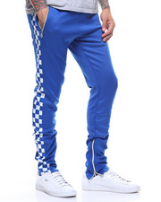 Jeans & Pants - CHECKERED TRACK PANT