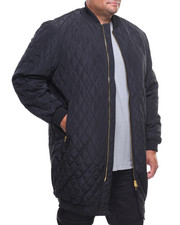 Outerwear - Quilted Long Liner Jacket (B&T)