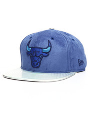 NBA, MLB, NFL Gear - 9Fifty Custom Suede Iridescent Brim Bulls Snapback Hat